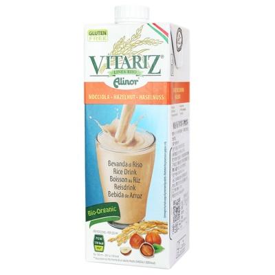 Vitariz Organic Rice Drink Hazelnut 1L