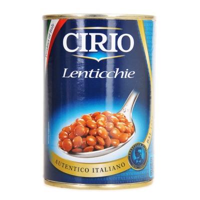 茄意欧小扁豆罐头 410g