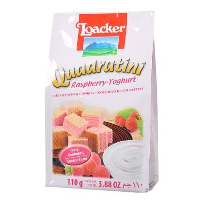 莱家覆盆子酸奶威化饼干 110g