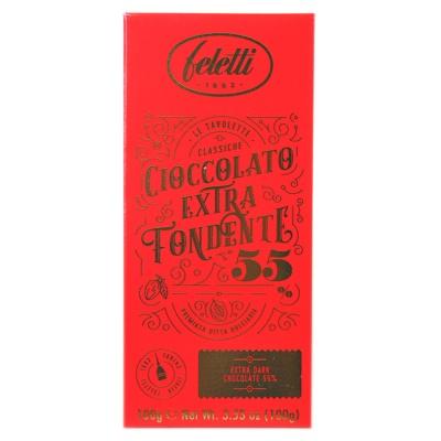 Feletti 1882 55% Extra Dark Chocolate 100g