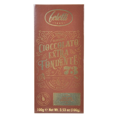 Feletti 1882 73% Extra Dark Chocolate 100g