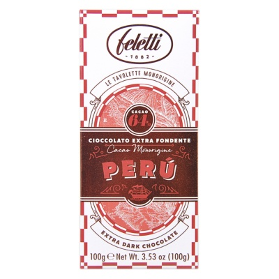 Feletti 1882 64% Extra Dark Chocolate 100g