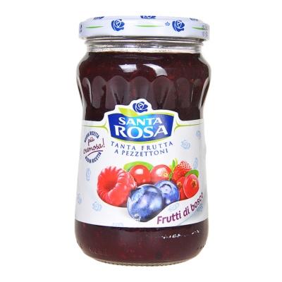 圣塔玫瑰混合莓果酱 350g