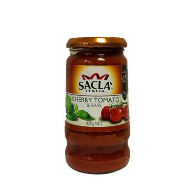 Sacla Cherry Tomato&Basil Pasta Sauce 420g