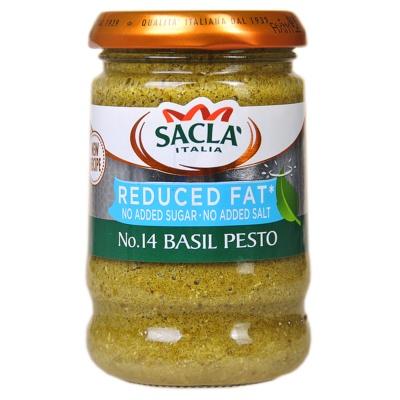 Sacla Vegan Basil Pesto 190g