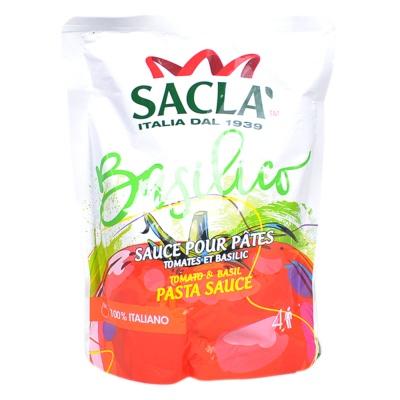 Sacla Tomato & Basil Sachet Pasta Sauce 300g