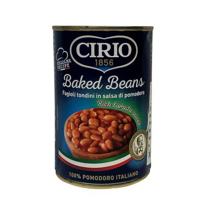 Cirio Baked Beans In Tomato Sauce 420g