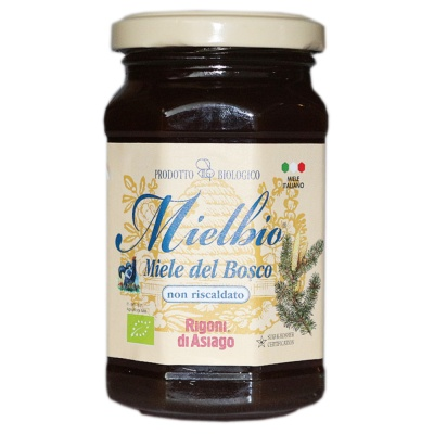 Rigoni Di Asiago Mielbio Italian Organic Forest Honey 300g