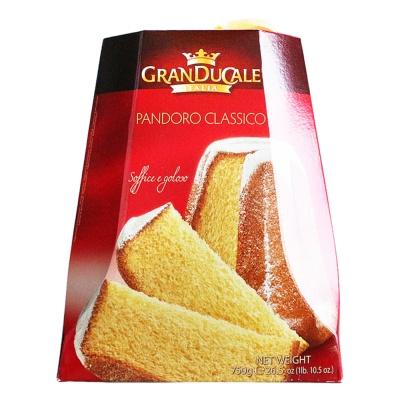 Granducale Pandoro Christmas Cake 750g
