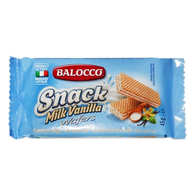 Balocco Wafers Latte 45g