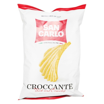 San Carlo Potato Chips(Thick And Crunchy) 50g