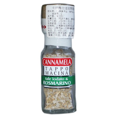 Cannamela Iodized Sea Salt And Rosemary 30g