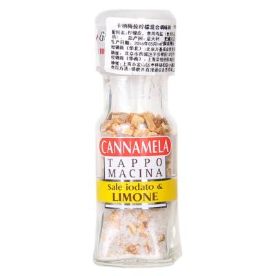 Cannamela Iodized Sea Salt with Lemon 48g