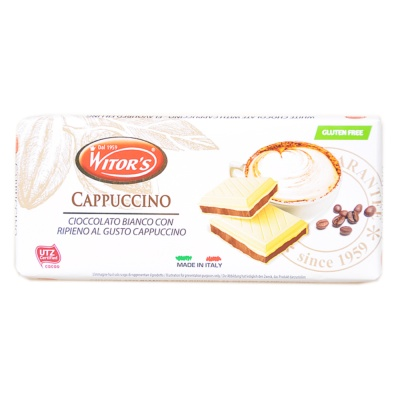Witor's Cappuccino White Chocolate 100g