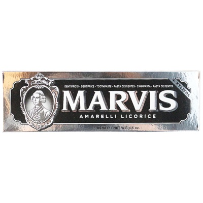 Marvis Toothpaste (Amarelli Licorice) 85ml