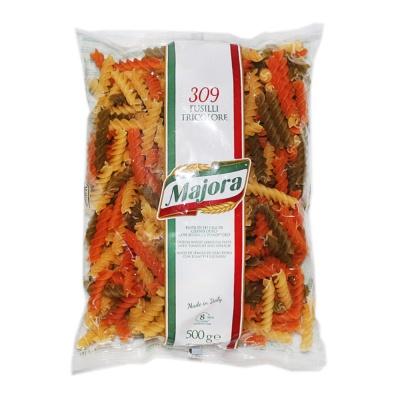 Majora Fusilli Tricolore Pasta 500g
