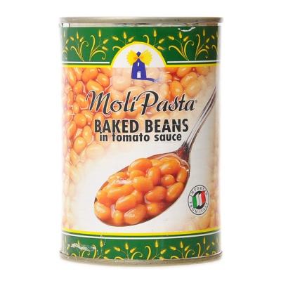 Moli Pasta Baked Beans in Tomato Sauce 400g