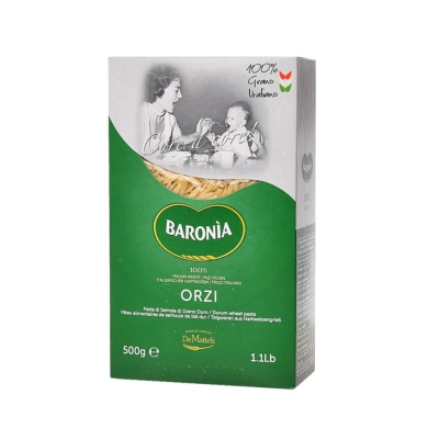 Baronia Orzi Durum Wheat Pasta 500g