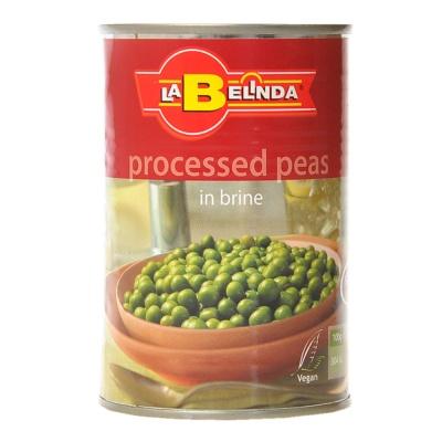 Belinda Processed Peas in Brine 400g