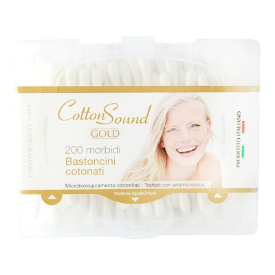 Cotton Sound Gold Bastoncini Cotonati 200p