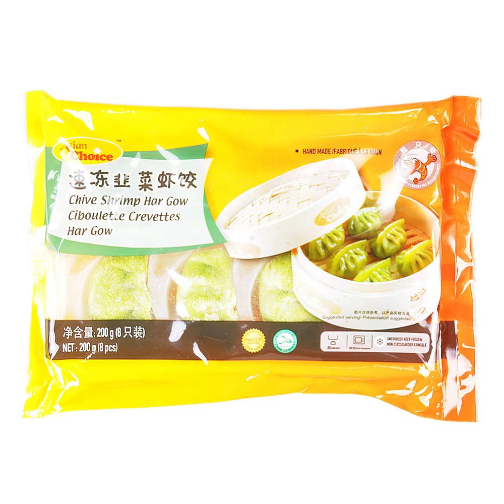 Asian Choice Chive Shrimp Har Gow 200g