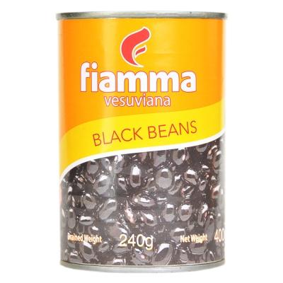 Fiamma Vesuviana Black Beans 400g