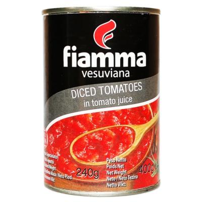 Fiamma Vesuviana Diced Tomataes 400g