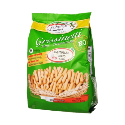 Squiggels Garlic Mini-Breadsticks 150g