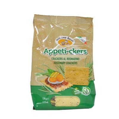 Soio Cose Buone Rosemary Crackers 120g