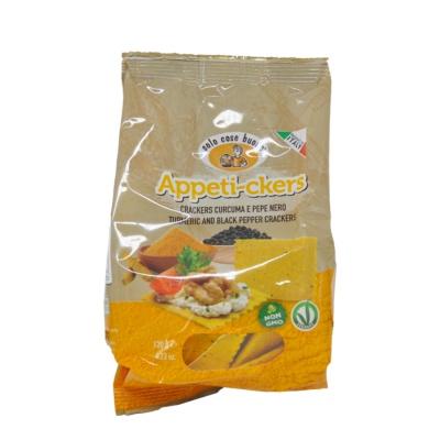 Soio Cose Buone Turmeric&Black Pepper Crackers 120g