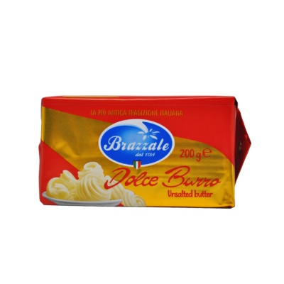 Brazzale Dolce Burro Unsalted Butter 200g