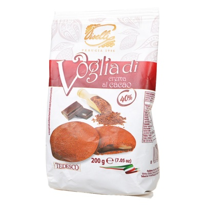 Voglia di Crema al Cacao (Chocolate Filled Cookie) 200g
