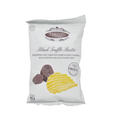 Tartufi Jimmy Black Truffle&Sea Salt Potato Chips 45g