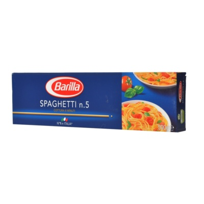 Barilla #5 Spaghetti(Box) 500g