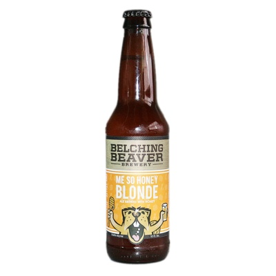 Belching Beaver Me So Honey Blonde 355ml