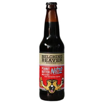 Belching Beaver Milk Stout Nitro Beer 355ml