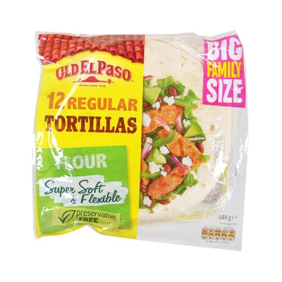 Old El Paso Tortilla 12pcs