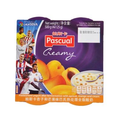 Pascual Thick & Creamy Apricot & Mango 4*125g
