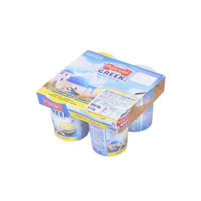 帕斯卡香草味巴氏热处理全脂希腊风味酸奶 4*125g