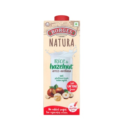 Borges Rice and Hazelnut Drink(0% Lactose/Gluten Free)1L