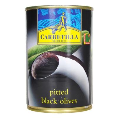 卡利亚去核黑橄榄 390g