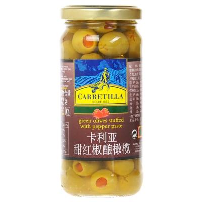 卡利亚甜红椒酿橄榄 225g