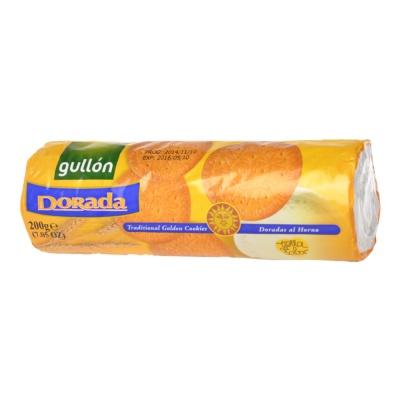 Gullon Dorada Traditional Golden Cookies 200g