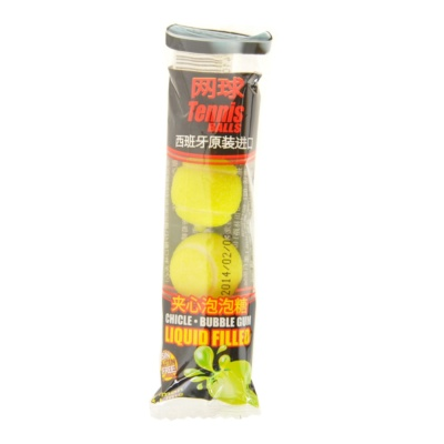 Fini Tennis Balls Bubble Gum 20g