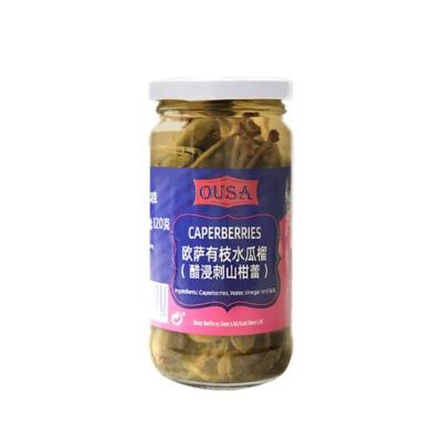 欧萨有枝水瓜榴(醋浸刺山柑蕾) 240g