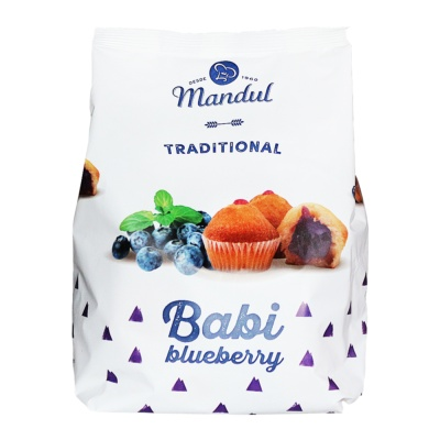 Mandul Blueberry Cupcakes 200g