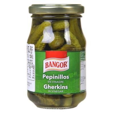 Bangor Pepinillos Gherkins 225g