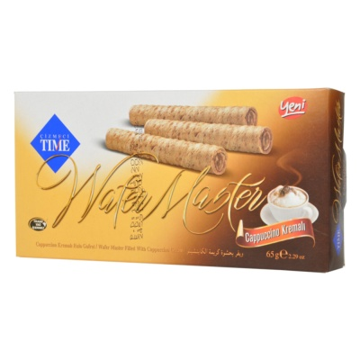 Cizmeci Time Cappuccino Wafer 65g