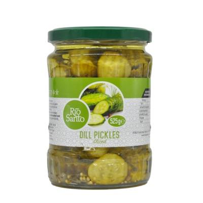 Riosanto Dill Pickles (Cliced) 525g