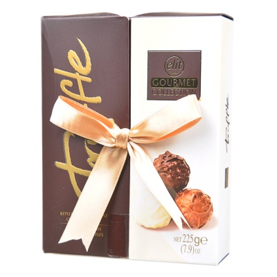 Elit Dark & Milk & White Chocolate Truffles 225g